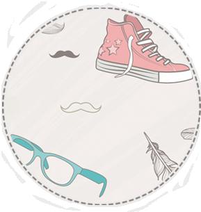 tło hipster